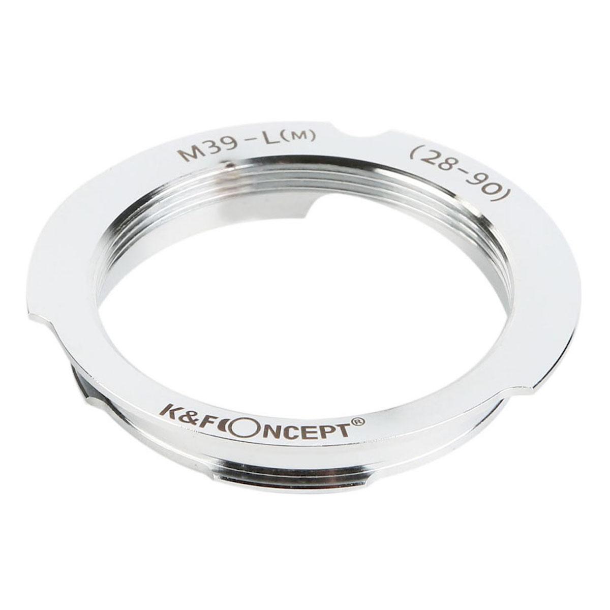 ディスカウント 新発売 KF CONCEPT Concept レンズマウントアダプター KF-LM-2890 ライカMマウント変換 → ライカLマウントレンズ