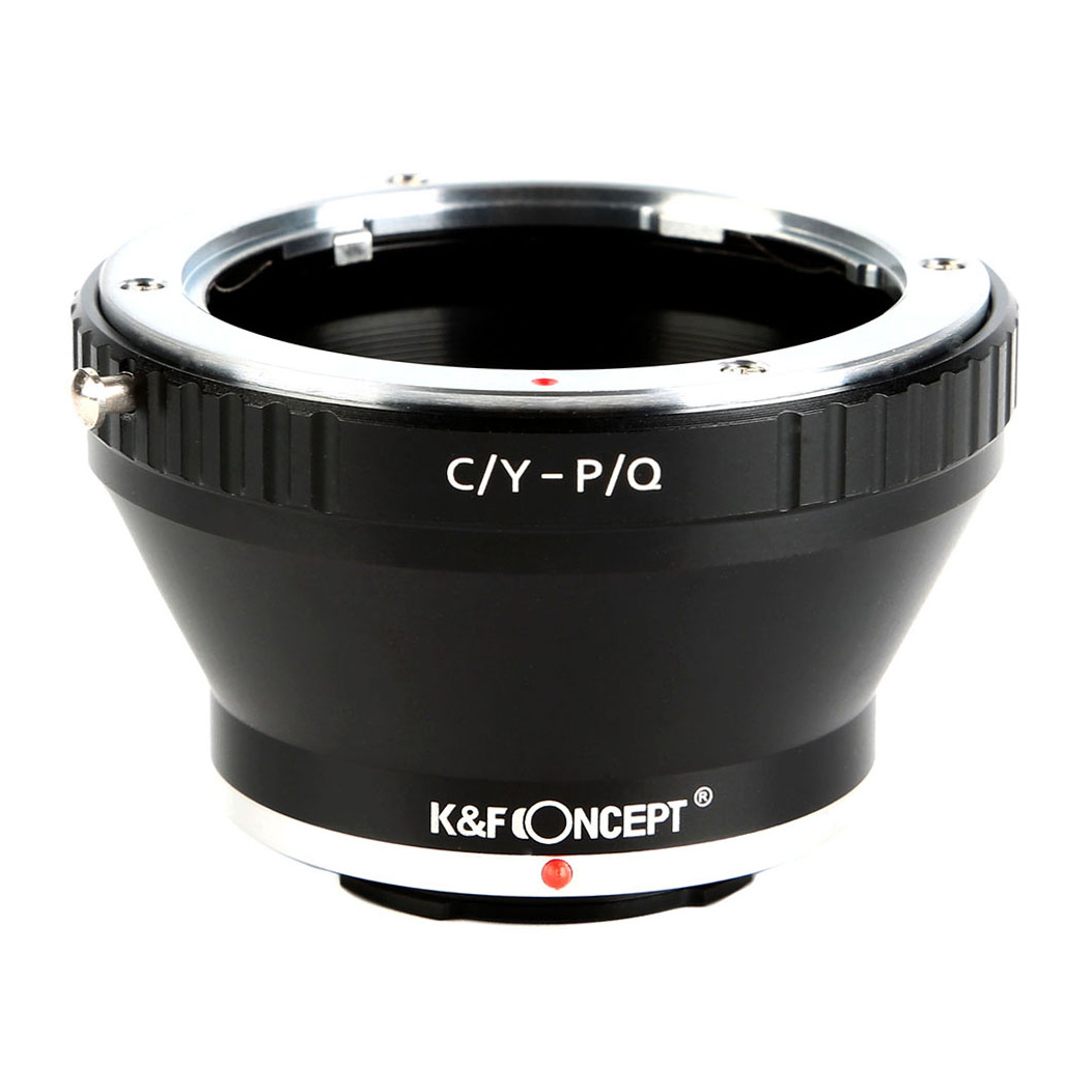 KF CONCEPT Concept レンズマウントアダプター KF-CYQ 祝開店大放出セール開催中 コンタックスマウントレンズ ペンタックスQマウント変換 正規激安 ヤシカ →