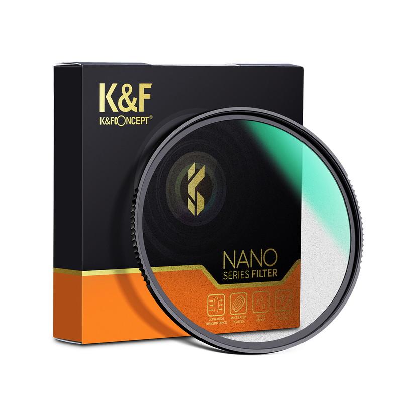 KF CONCEPT Concept NANO-X ブラックディフュージョン ブラックミスト 1 KF-58BD1 男女兼用 フィルター 58mm 高級品