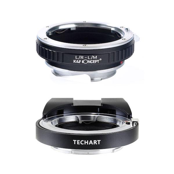 TECHART LM-EA7 + K&F Concept KF-LRM|ライカRレンズ用マウントアダプターセット