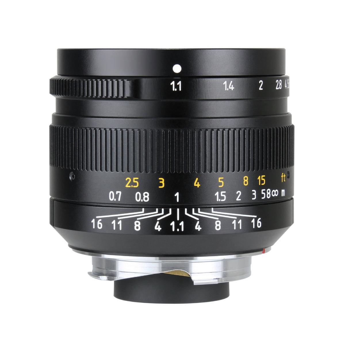 七工匠|7artisans 50mm F1.1 ブラック