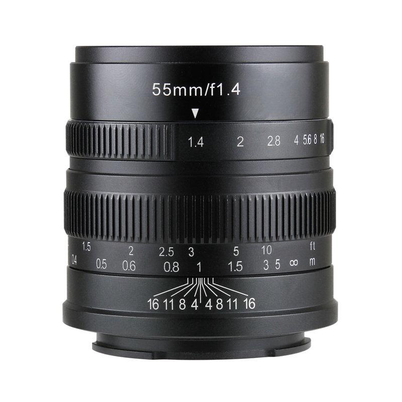 七工匠 7artisans 55mm F1.4 単焦点レンズ