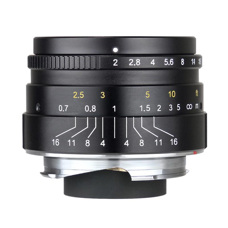 七工匠 7Artisans 35mm F2 単焦点レンズ ライカMマウント 3520LMB