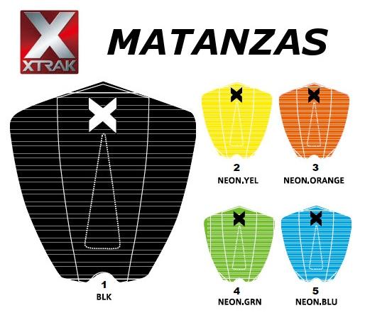 送料無料 X-TRAK エックストラック MATANZAS サーフィン デッキパッド ショートボード 期間限定特別価格 公式ストア DECK PAD TRACTION