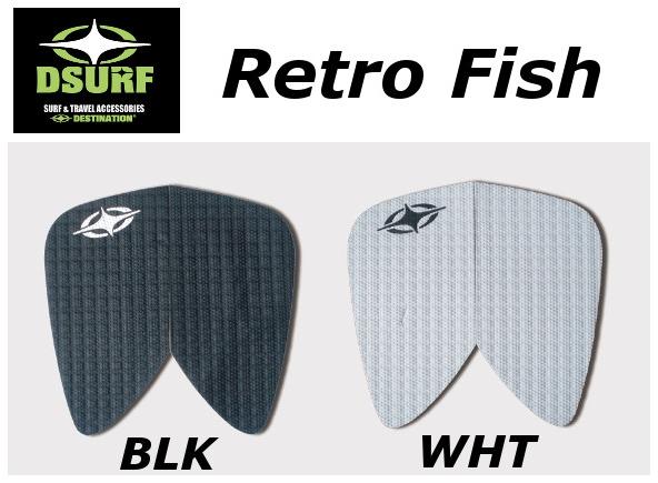 送料無料 DESTINATION 高価値 DS TRACTION Retro Fish フィッシュ デッキパッド DECKPAD 売れ筋ランキング ディスティネーション レトロ トラクションサーフィン