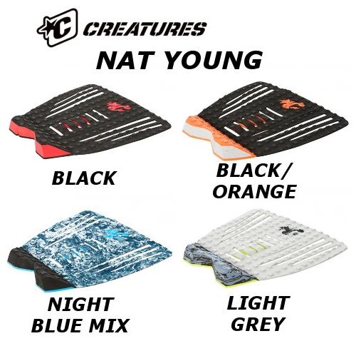 ●2017 CREATURES DECKGRIP NAT YOUNG クリエーチャーズ デッキグリップ ナット・ヤング サーフィン デッキパッド TRACTION トラクション