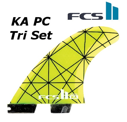 FCS2 FIN KA PC Tri Set 3FIN Kolohe Andino コロヘ・アンディーノ THRUSTER エフシーエス2 スラスター サーフィン フィン