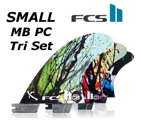 FCS2 FIN MB PC Tri Set SMALL 3FIN エフシーエス2 Matt 'Mayhem' Biolos マット・バイオロス メイヘム トライサーフィン フィン 送料無料