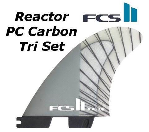 2019年最新入荷 FCS2 サーフィン 3FIN FIN Reactor PC Carbon Tri Set エフシーエス2 3FIN リアクター THRUSTER エフシーエス2 スラスター サーフィン フィン, 和賀郡:1da82b7d --- supercanaltv.zonalivresh.dominiotemporario.com