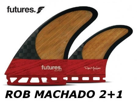 FUTURES FIN ROB MACHADO 2+1 BLACKSTIX3.0 / BAMBOO フューチャーフィン ロブ・マチャド ツインスタビライザー ブラックスティックス バンブー レトロ フィッシュ