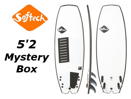 2018★Softech 5'2 Mystery Box Performance Softboard 送料無料 ソフテック ミステリーボックス ソフトボード フィッシュ クワッド