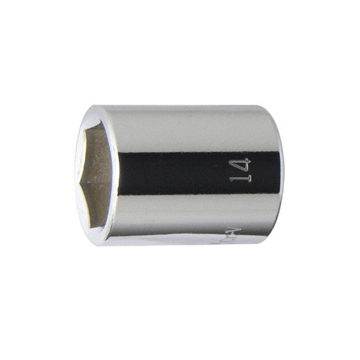 1 4 6.3mm スタンダードソケット 14mm STRAIGHT 永久保証 FLAG 最新アイテム 爆売り 10-153 フラッグ
