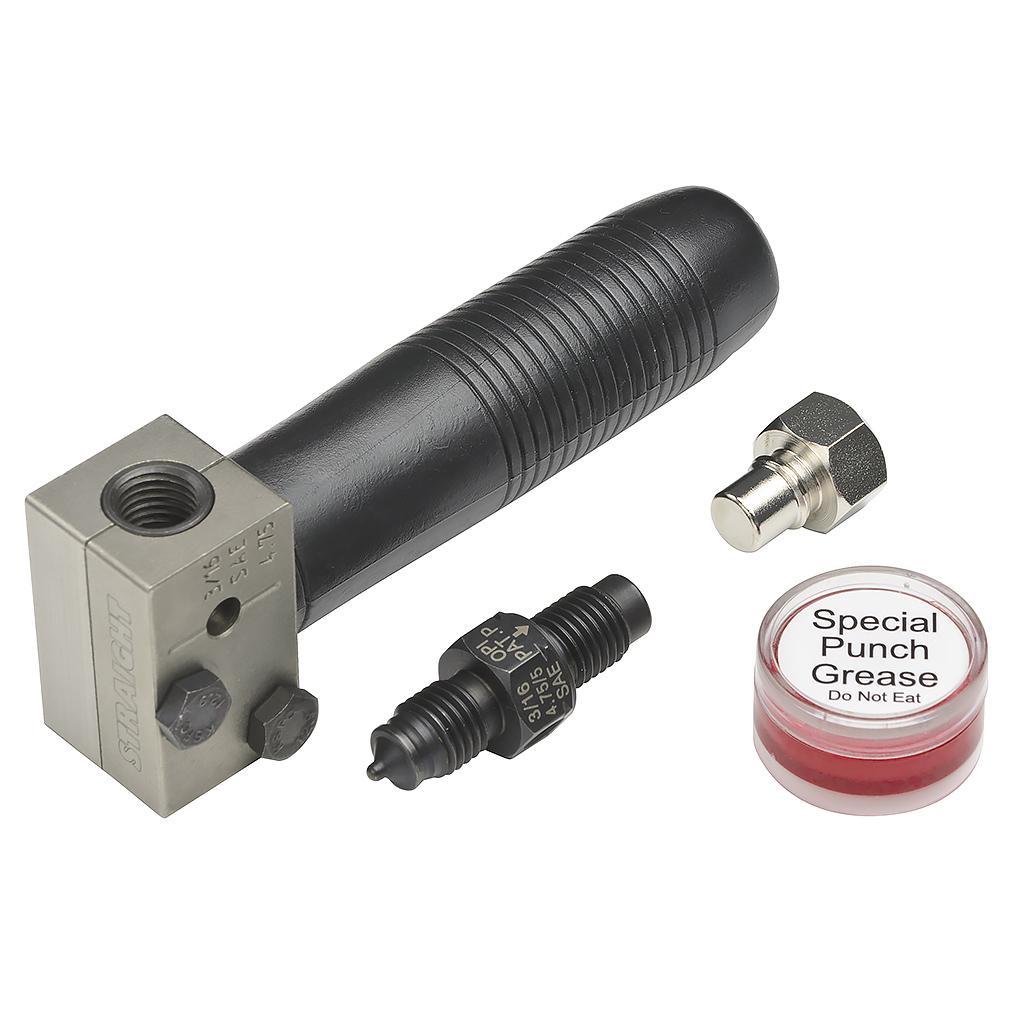 ブレーキパイプフレアリングツールセット SAEφ4.75パイプ用 STRAIGHT/19-7600 (STRAIGHT/ストレート)