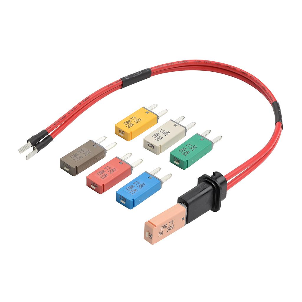 過電流によるヒューズ切れの検査に最適 ブレーカーヒューズテストキット STRAIGHT/35-8000 (STRAIGHT/ストレート)