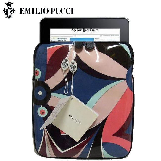 EMILIO PUCCI エミリオ プッチ iPadケース(アイパッド)タブレットケース No.2 【新品】【smtb-TK】【YDKG-tk】【コンビニ受取対応商品】