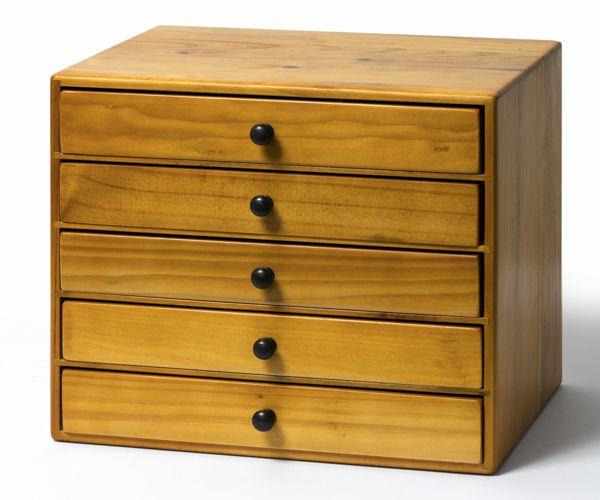 【 小引き出し 5段 】書類箱・小引出し・書類ケース木箱・HOMESTEDドロワー・可愛い・プレゼント引き出し・小物入れ