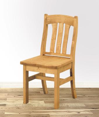 【カントリーチェアー(塗装済)】塗装済・組み立てキット送料無料・チェア・椅子・いす