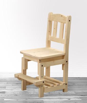 【ステップチェアー(無塗装)】無塗装・組み立てキット送料無料・チェア・椅子・いす