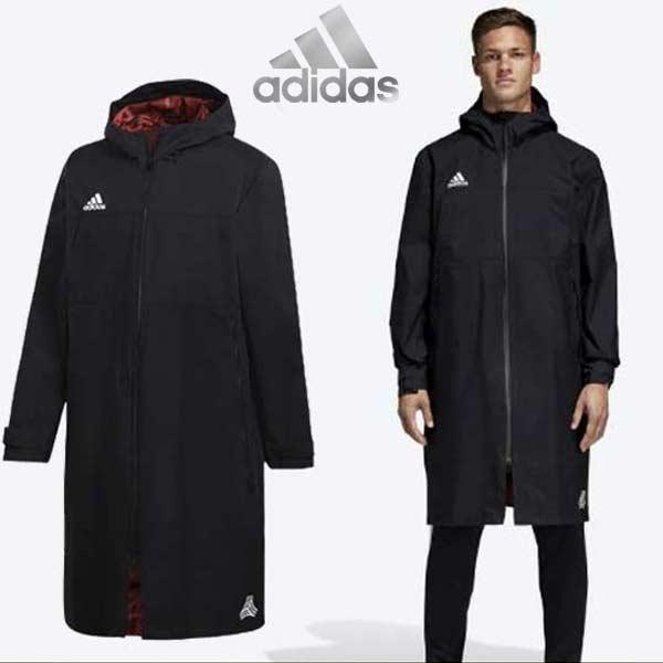 コート アディダス タンゴ ロングテックコート スポーツ ウェア 防寒 ジャケット TANGO CAGE EUV14 adidas