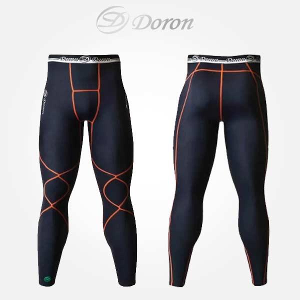 アンダー ウェア ドロン メンズ インナー ロング タイツ ファイテン アクアチタン D0520 スポーツ トレーニングシリーズ doron