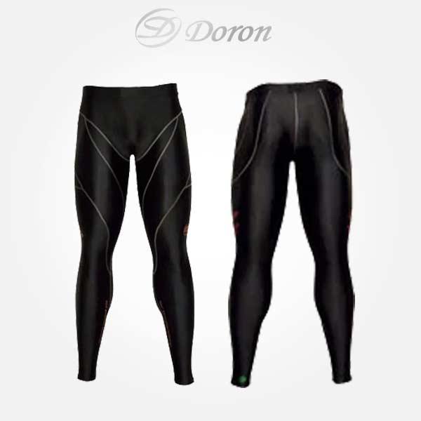 アンダー ウェア ドロン メンズ インナー ロング タイツ ファイテン アクアチタン D0780 スポーツ ソフトシリーズ doron