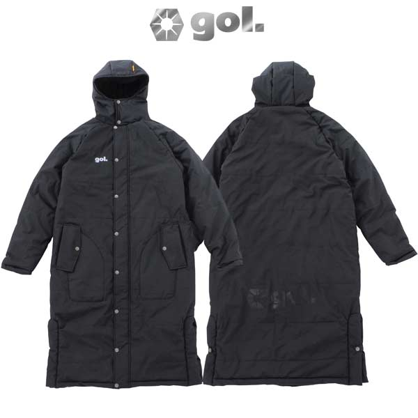 コート ゴル パディング ロングコート 中綿 G911-073 gol