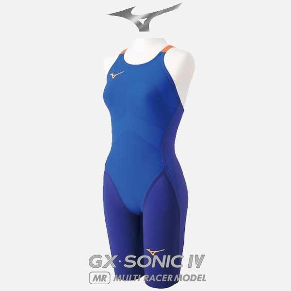 競泳 水着 ミズノ GX-SONIC 4 MR ハーフスーツ FINA 承認ラベル レディース スイミング 水泳 N2MG9202 MIZUNO