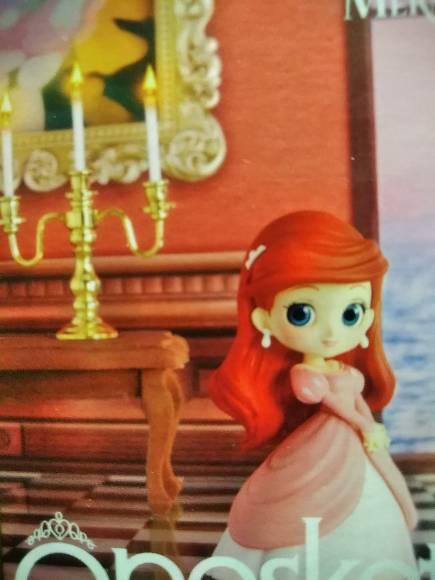Q posket Disney Characters petit -Ariel, Sofia, Aurora- ● Ariel (the Little  Mermaid) キューポスケットプチ