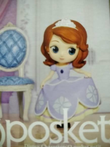 Q posket Disney Characters petit -Ariel, Sofia, Aurora- ● Sofia (small  princess) キューポスケットプチ