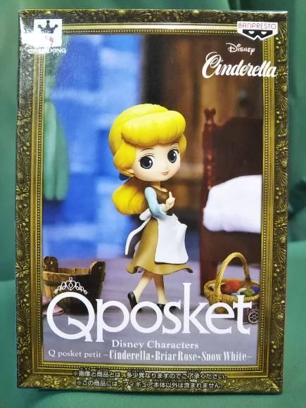 Disney Characters Q posket petit Cinderella Briar Rose Snow White Cinde.. Japan