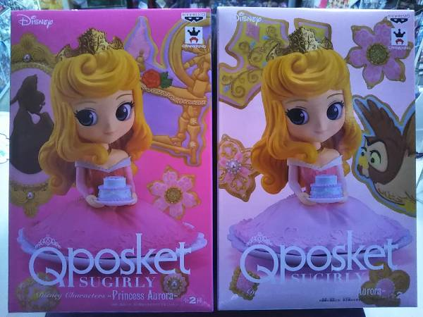 Q posket SUGIRLY Disney Characters -Princess Aurora- normal & special color  Sleeping Beauty aurora princess Disney princess