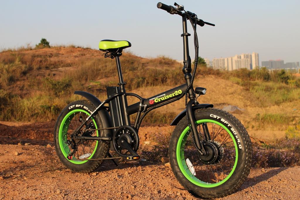電動ファットバイク自転車 G-Cruiser20