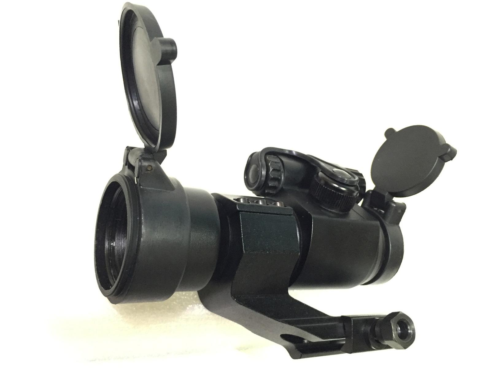 LXGD Aimpoint ドットサイト ダットサイト COMP M2 レプリカ HD1×32 エアガン照準器 スコープ ハイマウント バトラーキャップ付属 窒素ガス充填 防水 防霧