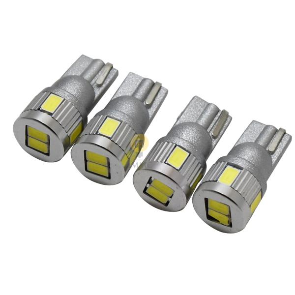 格安 ハイブリッド車対応 ポスト投函 送料無料 T10 LED T16 無極性 3w 新作送料無料 長寿命 4個セット ホワイト 5630SMD