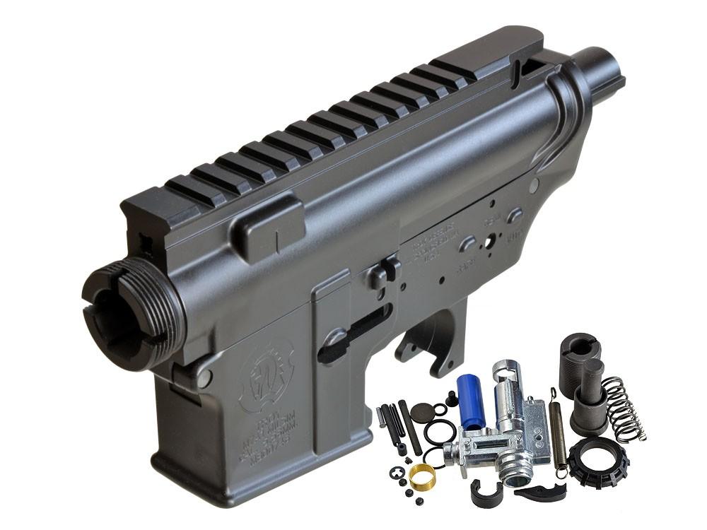 Madbull Troy M4 Ver.2 メタルフレーム セット BK
