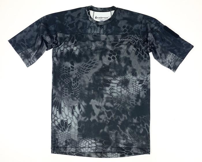 【20%OFFクーポン対象】Kryptek クリプテック 正規品 VALHALLA SS CREW 半袖 Tシャツ 18VALSSRT5 タイフォーン TYPHON Lサイズ