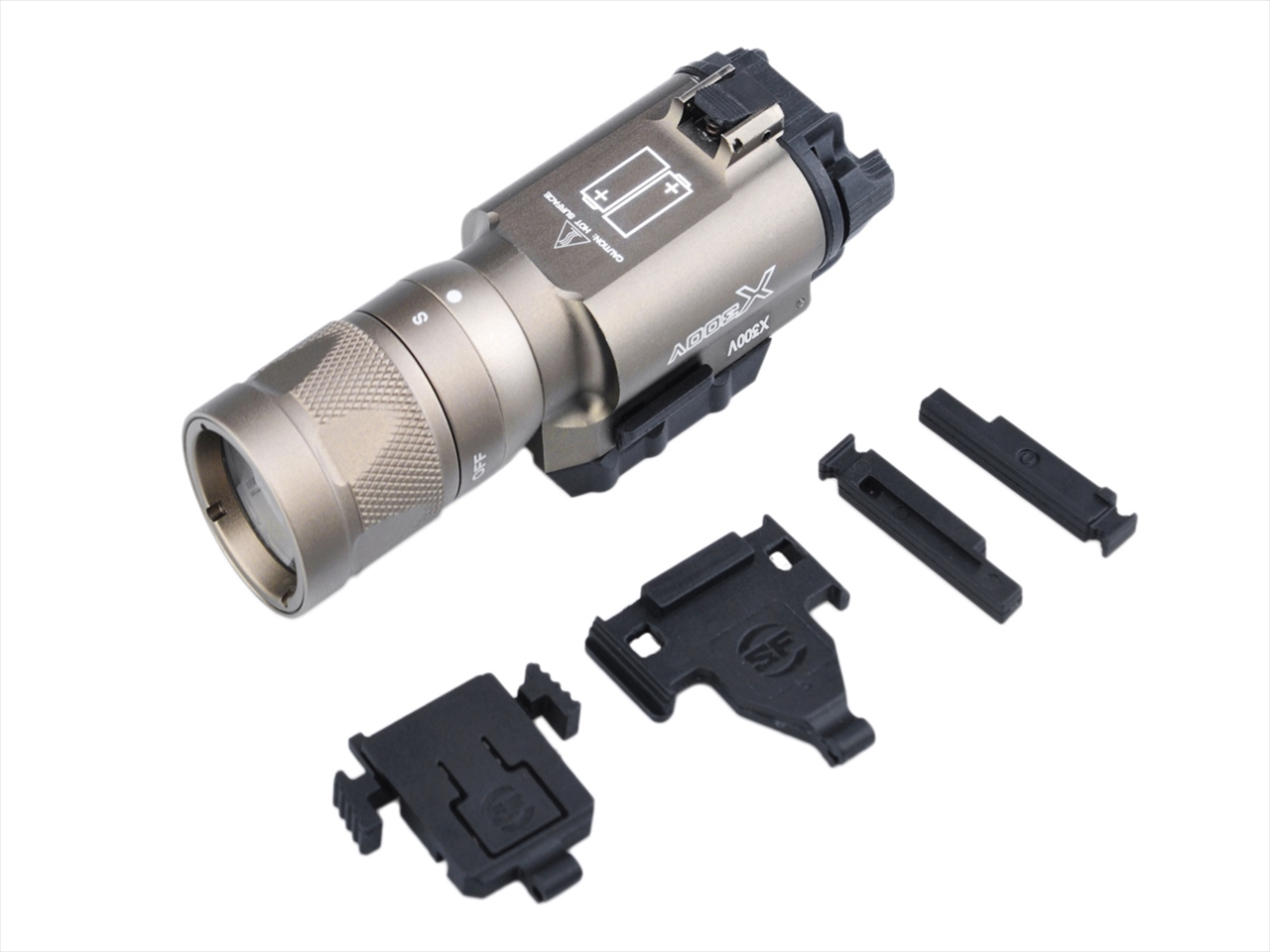 【 ポイント10倍 】Element X300V VAMPIRE LED タクティカルライト Strobe Ver. EX381DE サバイバルゲーム サバゲー ミリタリー エアガン 銃 エアソフト レプリカ 光学機器 防災