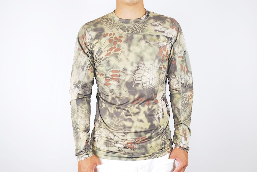 【10%OFFクーポン対象】Kryptek クリプテック オリジナル正規品 VALHALLA LS CREW 長袖 Tシャツ 18VALLSCM3 MANKDRAKE マンドレイク Sサイズ