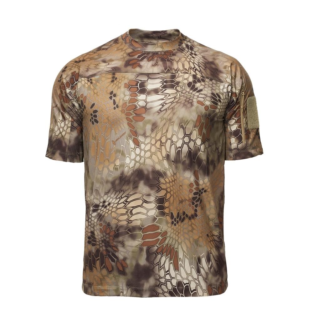 【20%OFFクーポン対象】Kryptek クリプテック オリジナル正規品 VALHALLA SS CREW 半袖 Tシャツ 18VALSSRH5 HIGHLANDER ハイランダー Lサイズ