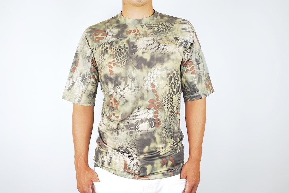 【20%OFFクーポン対象】Kryptek クリプテック オリジナル正規品 VALHALLA SS CREW 半袖 Tシャツ 18VALSSRM5 MANKDRAKE マンドレイク Lサイズ