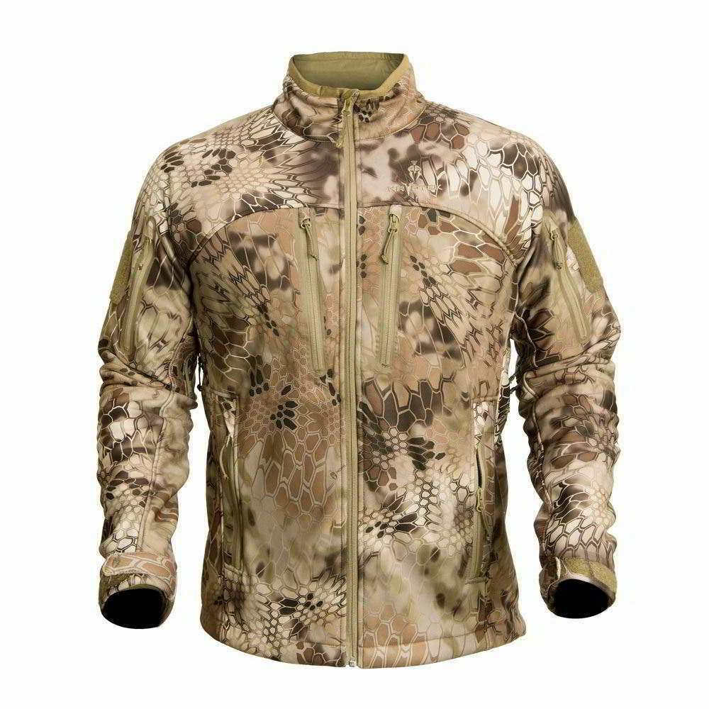 【10%OFFクーポン対象】Kryptek クリプテック オリジナル正規品 Cadog Jacket ソフトシェル ジャケット 15CADJH4 ハイランダー HIGHLANDER Mサイズ