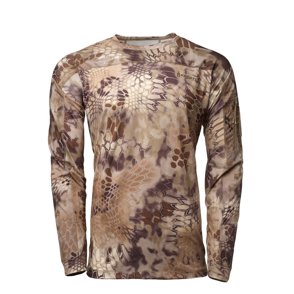 【10%OFFクーポン対象】Kryptek クリプテック オリジナル正規品 VALHALLA LS CREW 長袖 Tシャツ 18VALLSCH2 ハイランダー HIGHLANDER XSサイズ