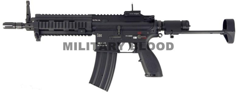 VFC Umarex HK416C JPVer. 電動ガン BK サバイバルゲーム サバゲー ミリタリー エアガン ライフル 銃 エアソフトガン アサルトライフル, インテリア マルキン ba633fee