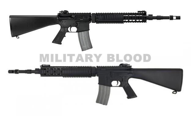 VFC Colt MK12 MOD1 フィックスストック 2015 DX版 ガスブロ BK