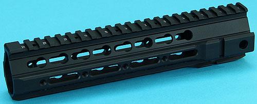 【 4/1まで ポイント10倍】G&P TMR 9.5inch RAS ハンドガード BK GP-COP065S サバイバルゲーム 銃 パーツ サバゲー 銃 エアガン ミリタリー