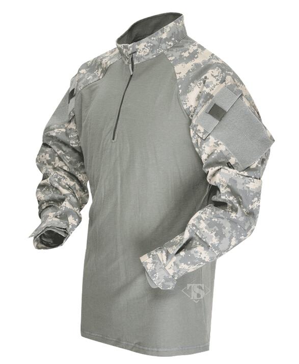 【年末セール 30%OFF 12/26 12時まで】TRU-SPEC TRU 1/4 ZIP COMBAT シャツ ACU SR 2542003 サバイバルゲーム 服装 サバゲー 服装 装備 ミリタリー