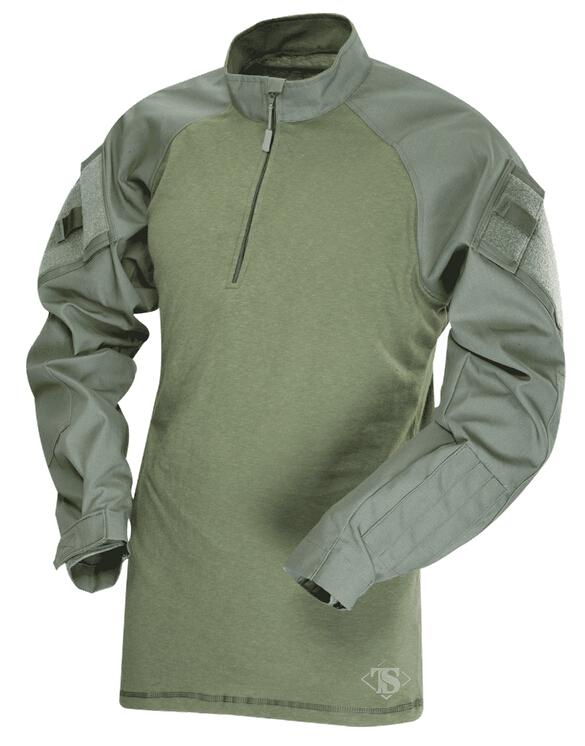 TRU-SPEC TRU 1/4 ZIP COMBAT シャツ OD LR(Lサイズ) 2565005