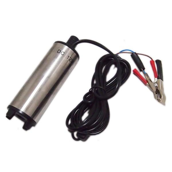 12V コンパクト 永遠の定番モデル ステンレス 大サイズ 激安卸販売新品 水中ポンプ