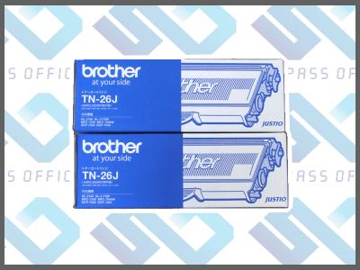 ブラザー純正品TN-26J(2本入)DCP-7030/7040/HL-2140/2170W/MFC-7340/7840W
