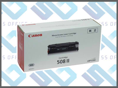キャノン純正トナーカートリッジ508IILBP-3300